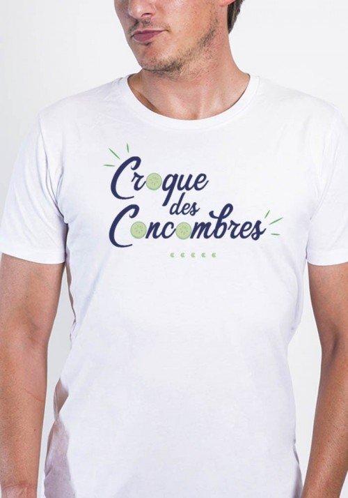 Croque des concombres - T-shirt Homme