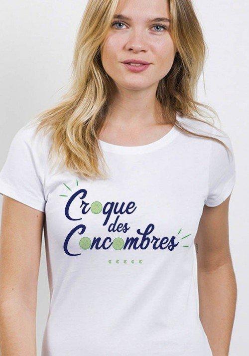 Croque des concombres - T-shirt Femme