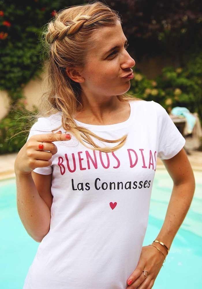 Buenos dias las connasses - T-shirt Femme