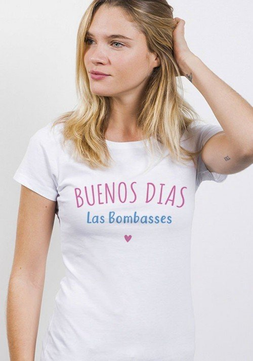 Buenos dias las bombasses - T-shirt Femme