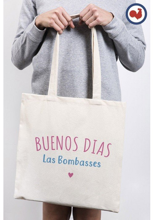 Buenos dias las bombasses Totebag Made in France