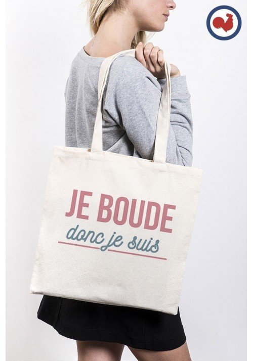 Je boude donc je suis Totebag Made in France