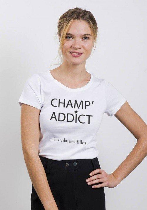 Champ' addict - T-shirt Femme