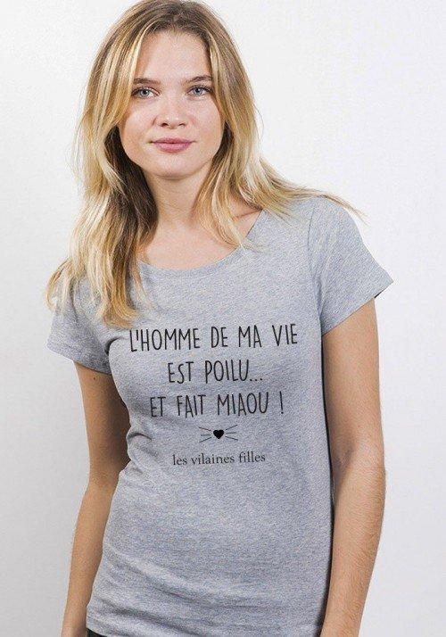 L'homme de ma vie - T-shirt Femme