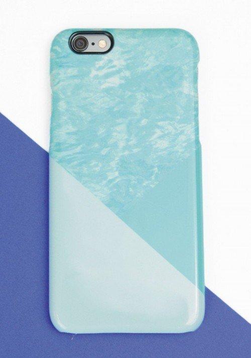Turquoise- Coques smartphones