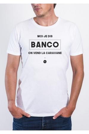 Le banco - T-shirt Homme Col Rond