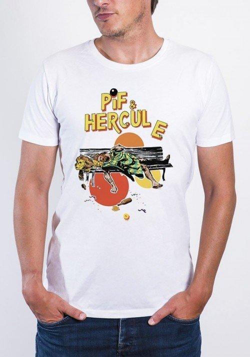 Pif et Hercule - T-shirt Homme Col Rond