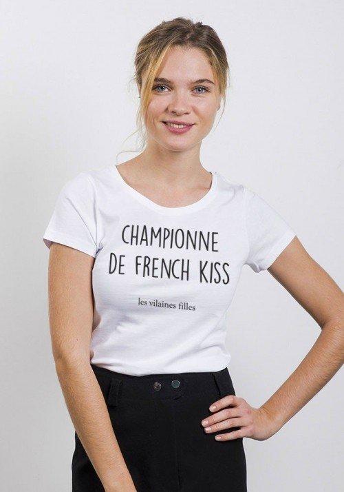 Championne de french kiss - T-shirt Femme