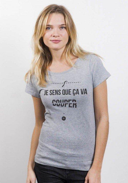 Ça va couper - T-shirt Femme