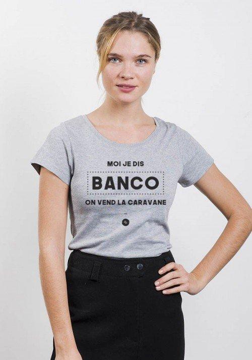 Le banco - T-shirt Femme