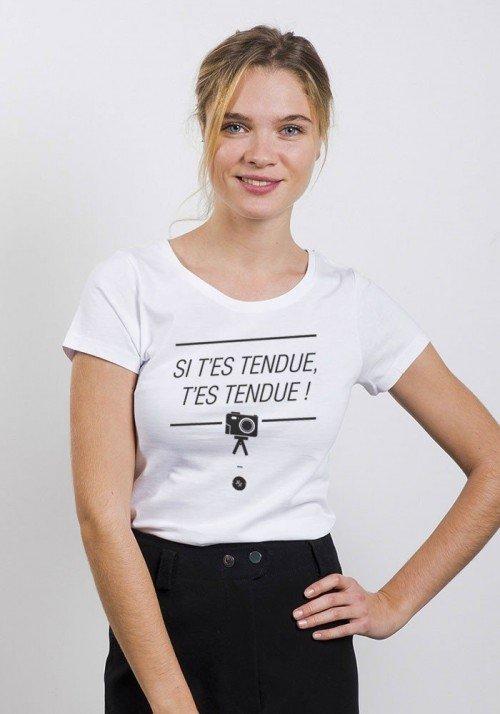 Le tendu - T-shirt Femme