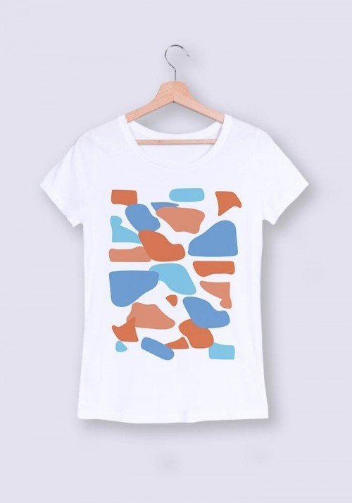 Camouflage - T-shirt Femme