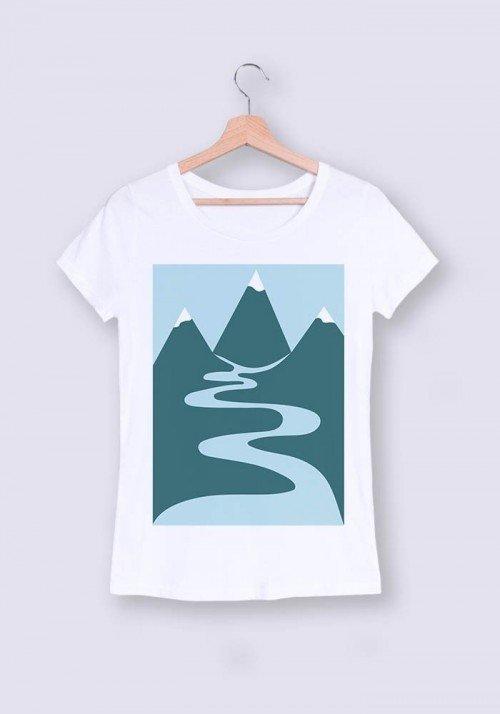 Montagne - T-shirt Femme