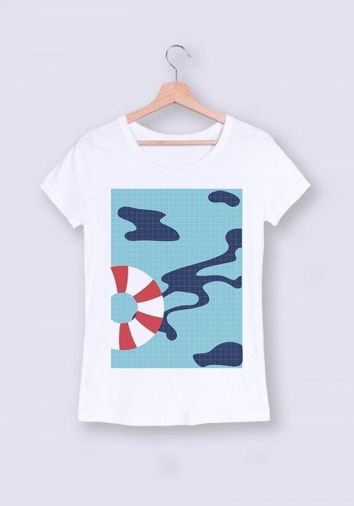 Piscine - T-shirt Femme