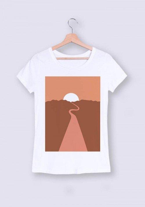Plaine des sables - T-shirt Femme