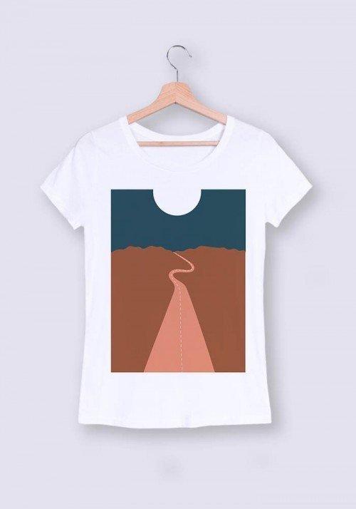 Plaine des sables nuit - T-shirt Femme