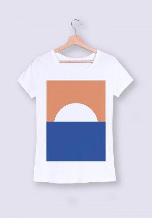 Sunset - T-shirt Femme
