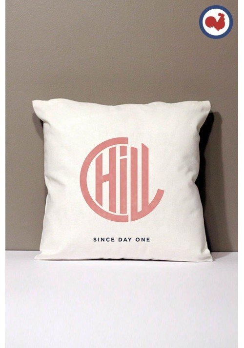 Chill since - Coussin Made in France Bio