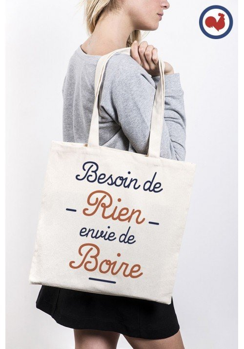 Besoin de rien - Totebag Made in France