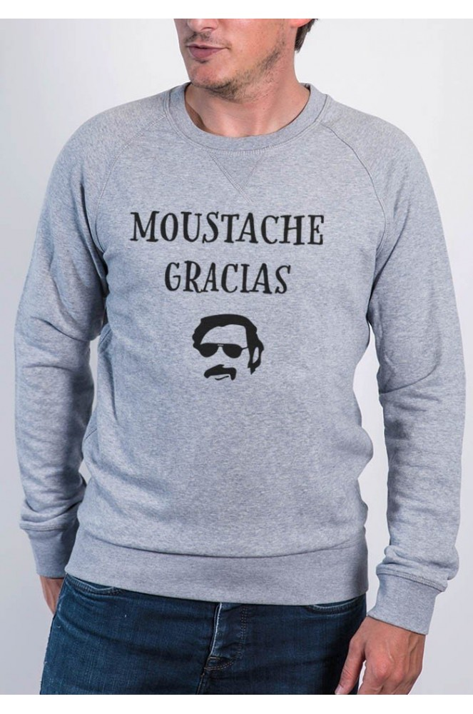 Sweat Le Tshirt Styley Sur Gracias By Moustache FdqwZxa