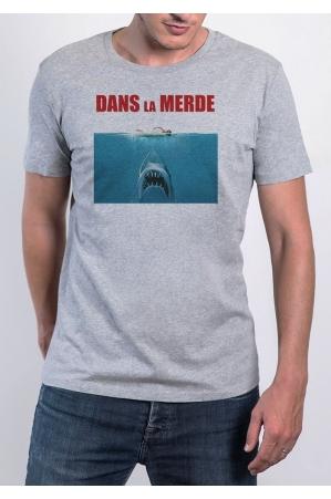 Dans la merde - T-shirt Homme