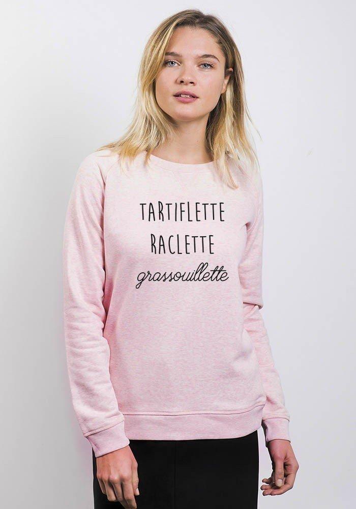 Tartiflette Raclette Grassouillette - Sweat Femme - coupe été