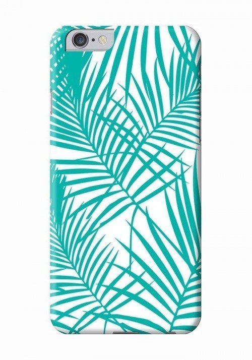 Palmier turquoise - Coque smartphone