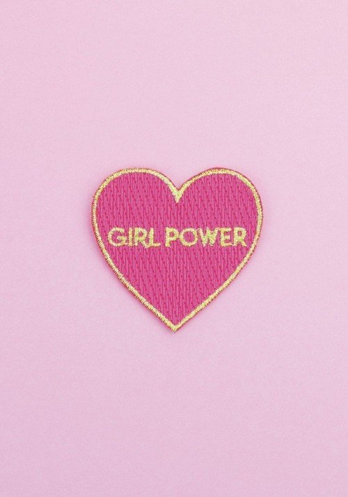 Girl Power - Ecusson