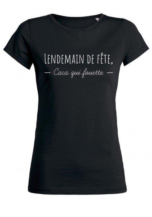 Lendemain de fête - T-shirt noir Femme