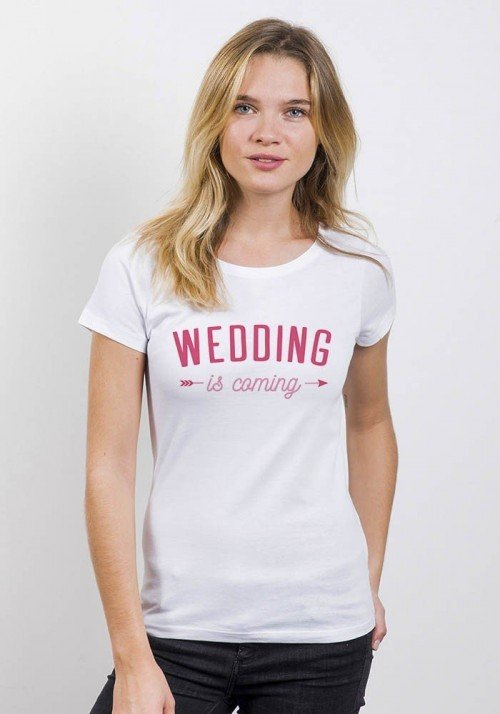 Wedding is coming - T-shirt Femme