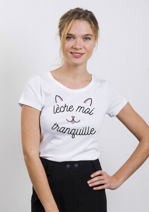 Leche moi tranquille - T-shirt Femme