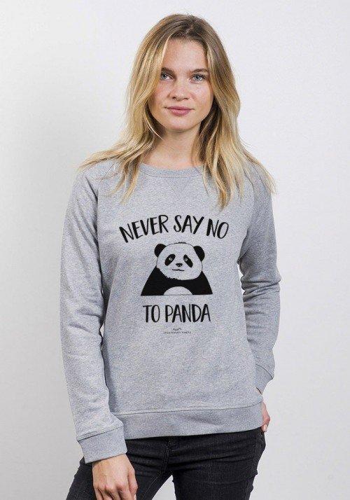 Aqua Panda Sweat Femme