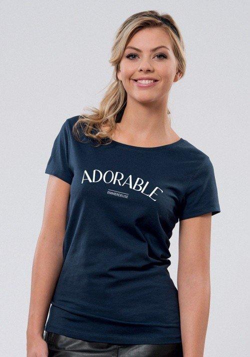 Adorable Emmerdeuse  T-shirt Femme Col Rond