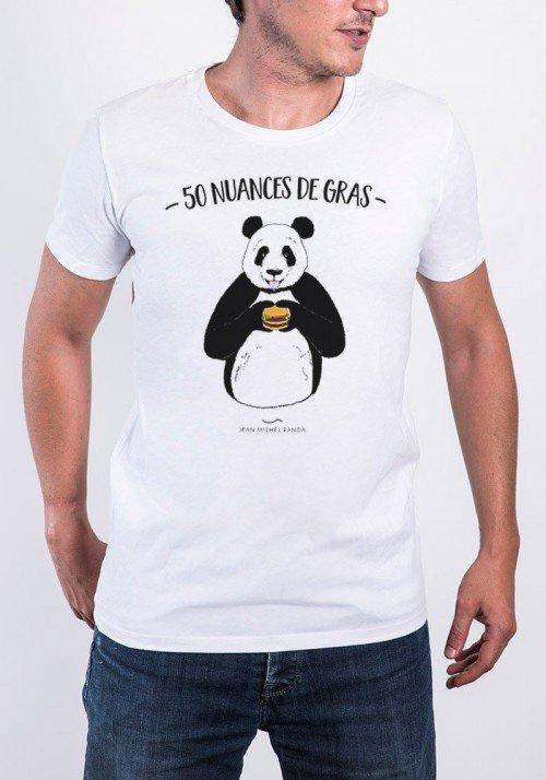 50 nuances de gras  T-shirt Homme Col Rond