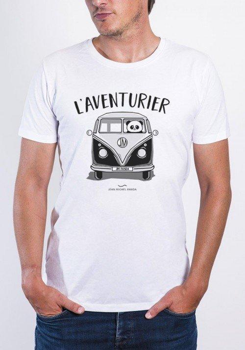 l'aventurier T-shirt Homme Col Rond