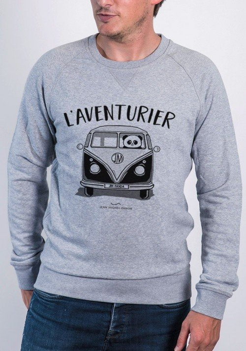 l'aventurier Sweat Homme
