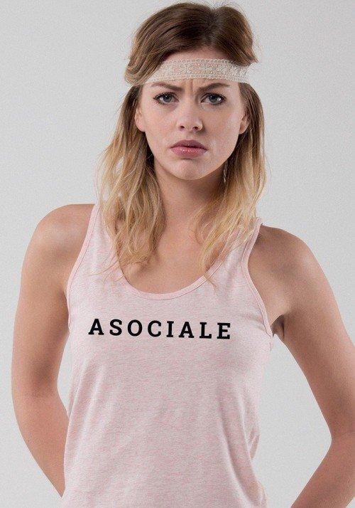 Asociale Débardeur Femme