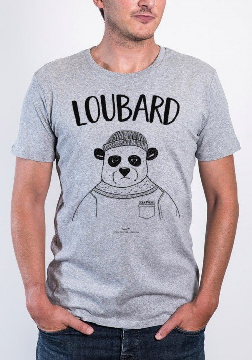 loubard  T-shirt Homme Col Rond