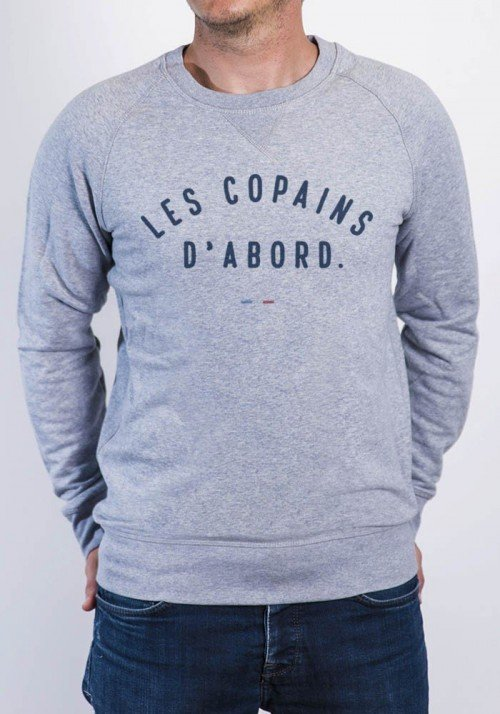 Copains d'abord Sweat Homme