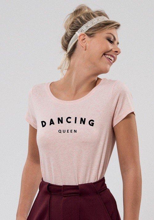 Dancing queen T-shirt Femme