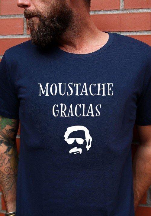 Moustache Gracias - T-shirt Homme