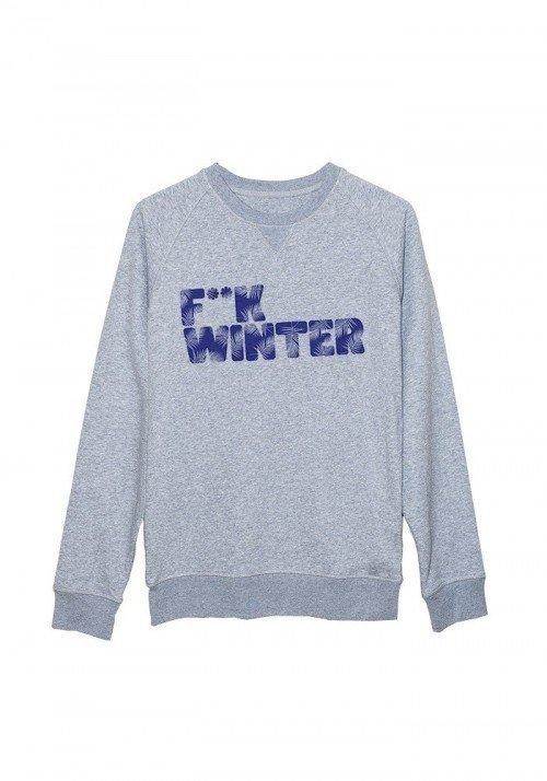 F**k winter - Sweat Homme