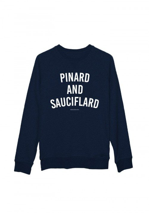 Pinard and Sauciflard - Sweat Homme Navy