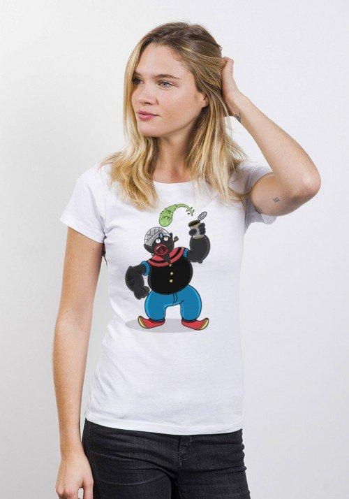 Mister Popoeye - T-shirt Femme