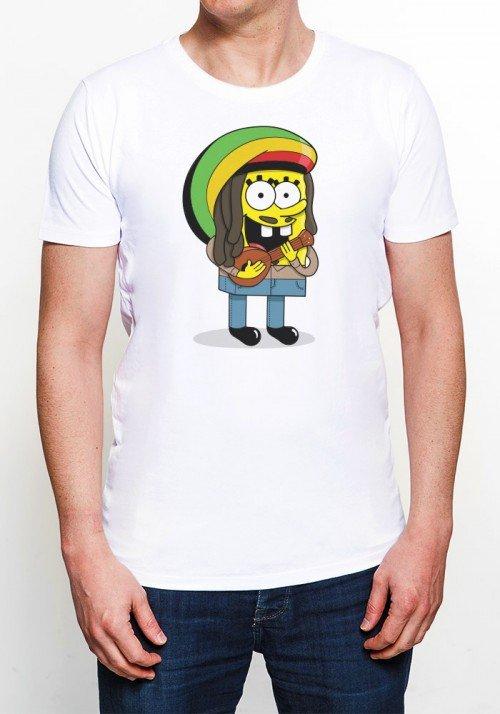Sponge Bob Marley Tee-shirt Homme