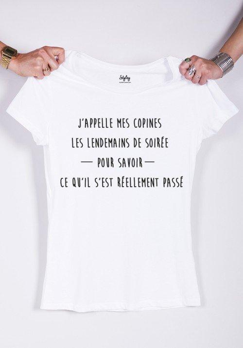 j'appelle mes copines - T-shirt Femme
