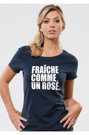 Fraîche comme un rosé T-shirt Femme