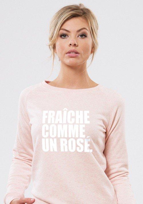 Fraîche comme un rosé Sweat Femme