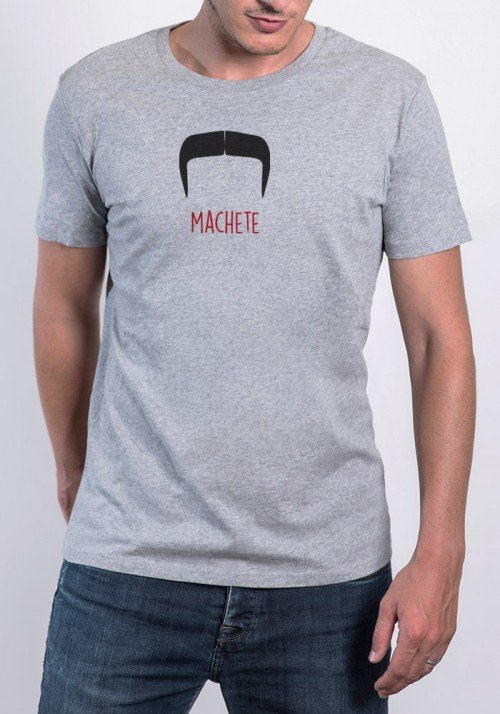 Moustache Machete Tee-shirt Homme
