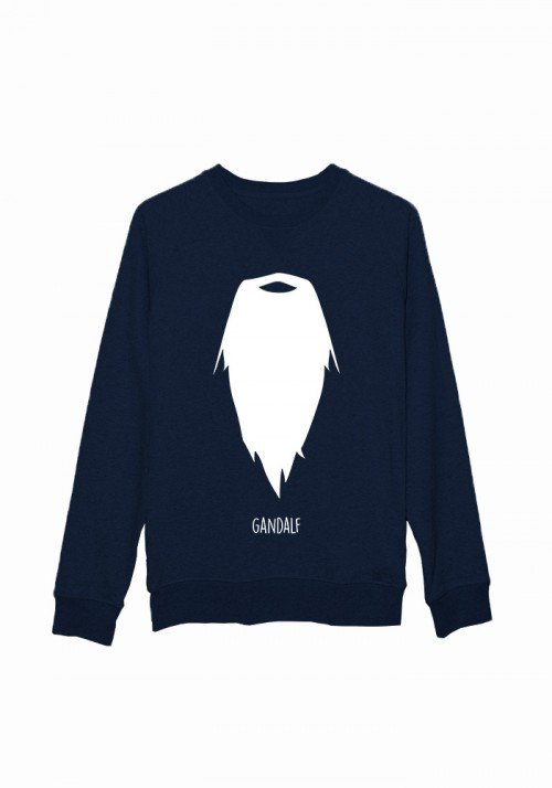 Moustache Gandalf  - Sweat Homme